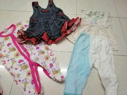 Mix brand 0to3month