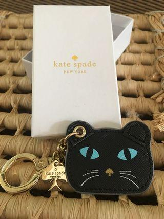 Ready stock: Kate Spade Mouse & Cat keychain