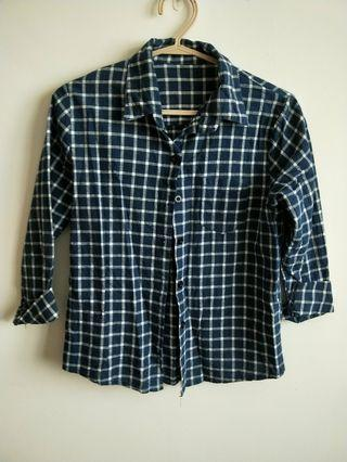 Checkered Shirt in blue