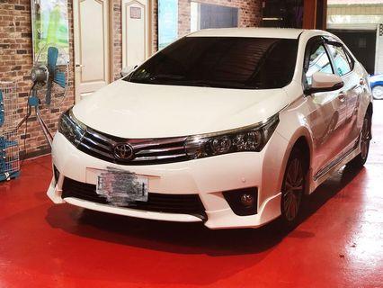 Toyota altis 2016年s+