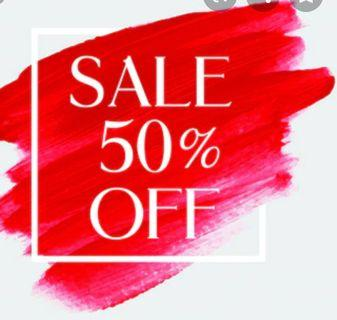 #SALE up to 50%