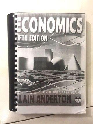 Economics Textbook Fifth Edition