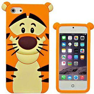 Tigger iPhone 5/5s Rubber Phone Case