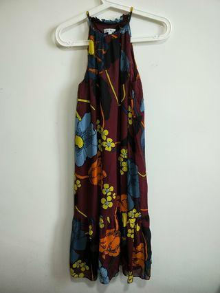 Love Bonito Delra Printed Frill Hem Dress