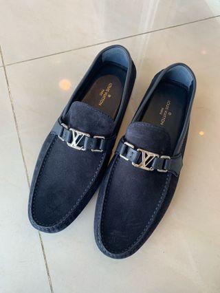 全新 LV男鞋豆豆鞋