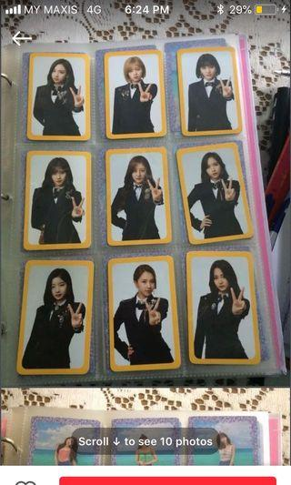 TWICE OFFICIAL PHOTOCARDS AND POSTERS