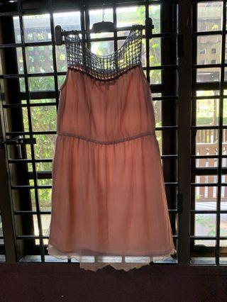 Vintage Topshop Pink Dress #letgo50