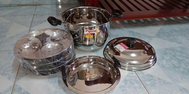 Stainless steel Idli/Idiyappam pot