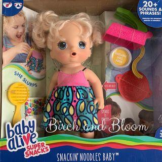 Baby Alive Snackin' Noodles