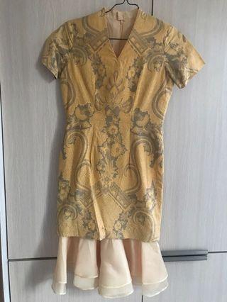 Dress Batik Yellow