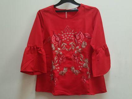 St.Yves - Red Blouse