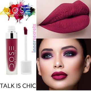 Preloved Dose Of Colors Liquid Lipstick - Talk Is Chic
