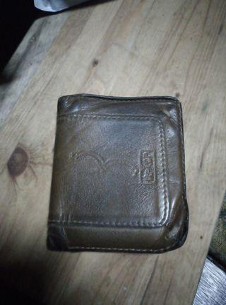 Old Levis leather wallet