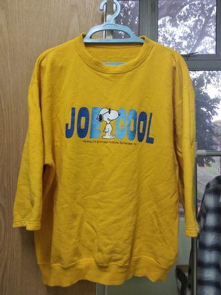 Snoopy Yellow Sweatshirt