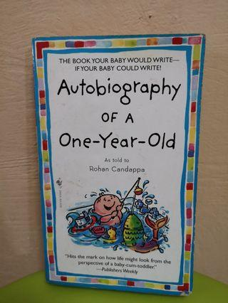 Autobiography of a one-year old