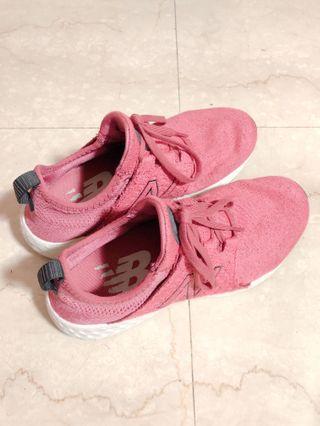 粉色 NB運動鞋