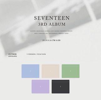 Seventeen 3rd album