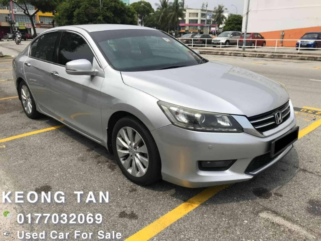 2014TH🚘HONDA ACCORD 2.0AT Vti-L🎉Cash💰OfferPrice💲Rm74,800 Only‼ Lowest Price InJB 🎉📲 Keong‼🤗