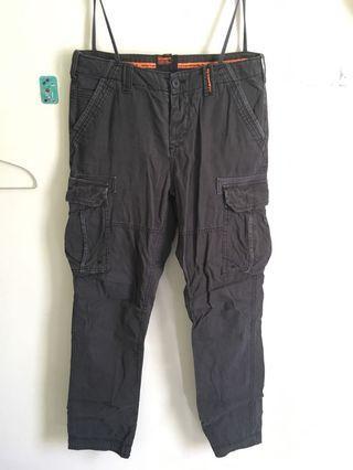 Spider dry 工作褲 deep blue