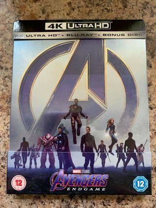Avengers Endgame 4K Steelbook