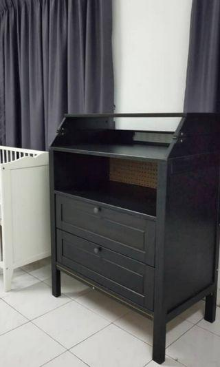 Ikea sundvik baby changing table / chest  drawer