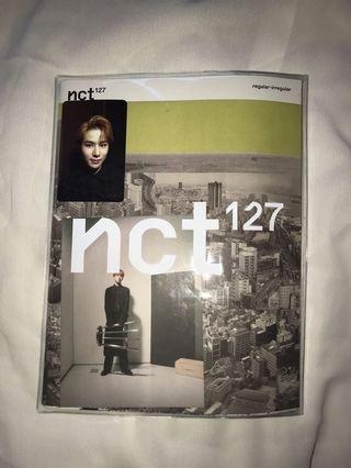 [WTS] NCT127 REGULAR-IRREGULAR ALBUM REGULAR VER. JUNGWOO PC (unsealed)