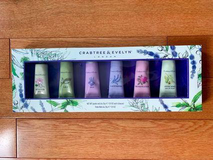 Crabtree & Evelyn 6-piece Mini Hand Lotion Set