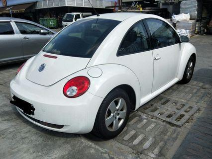 Cheap Volkswagen beetle. Rental