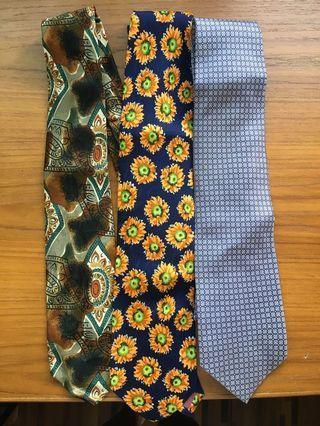全絲領帶 x 5
