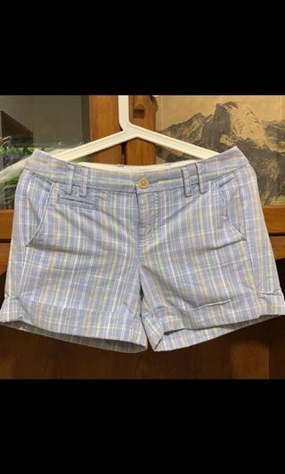 Tommy Hilfiger  粉藍格子短褲
