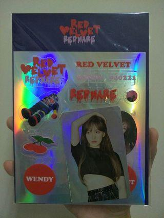 Official Red Velvet Redmare Wendy Holo Photocard