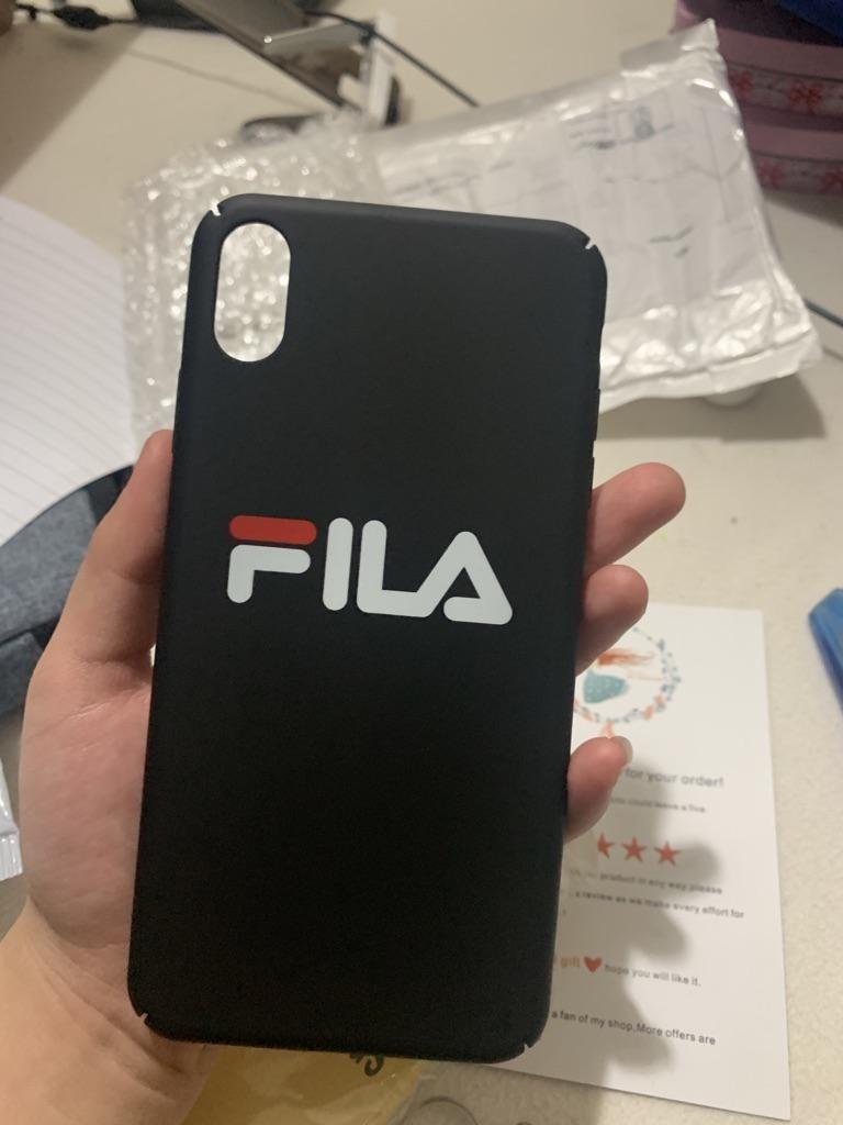 [4 Designs] FILA Brand Iphone Cover Sleeve Case