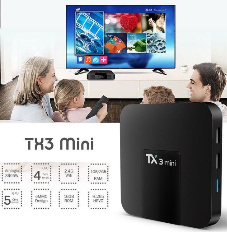 Android Tv Box, Home Appliances, TVs & Entertainment Systems