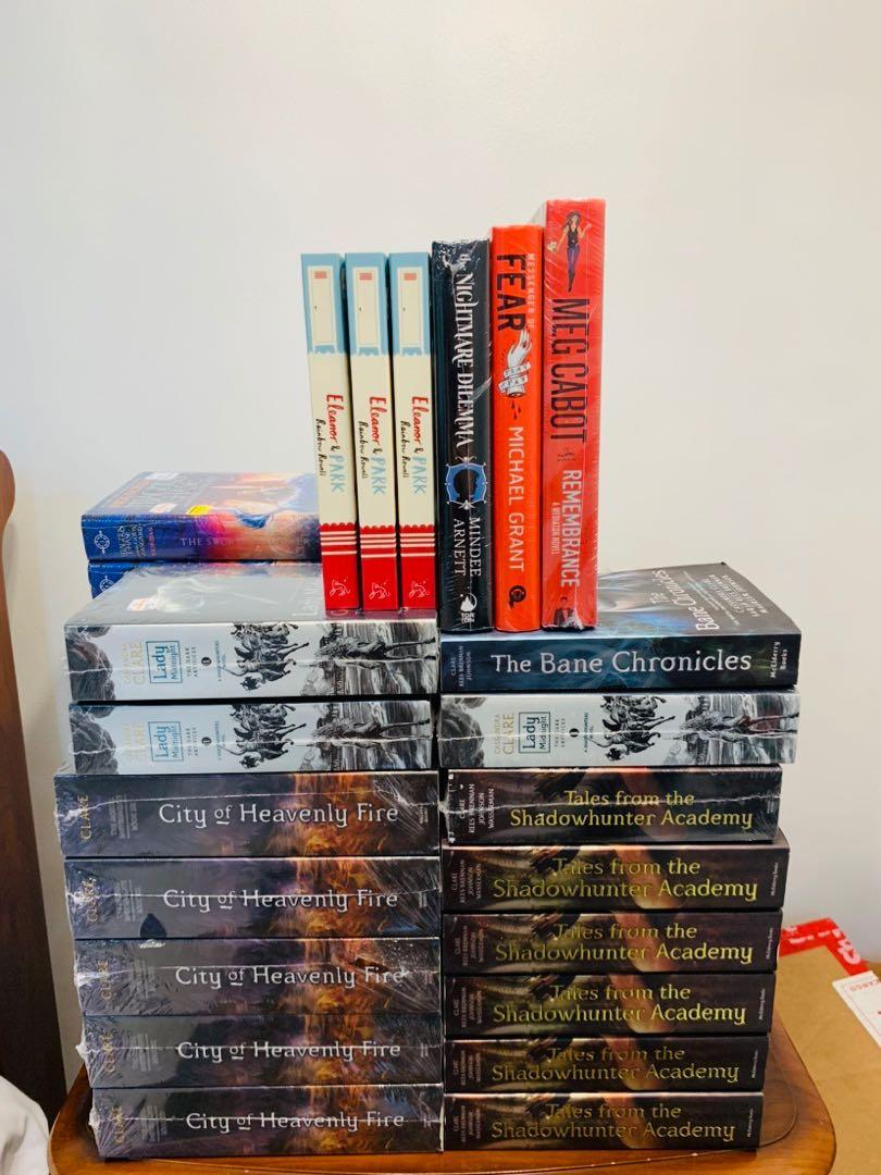 Assorted HB, PB Books (Eleanor and Park, Messenger of Fear, Remembrance, Nightmare Dilemma)