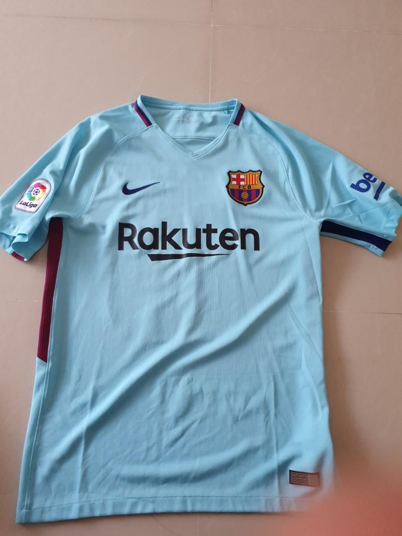 huge selection of bad70 20b9d Authentic nike Barcelona messi away jersey 17 18 season ...