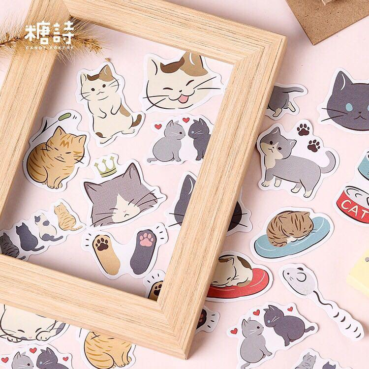 BNIB Cats ver2 Stickers