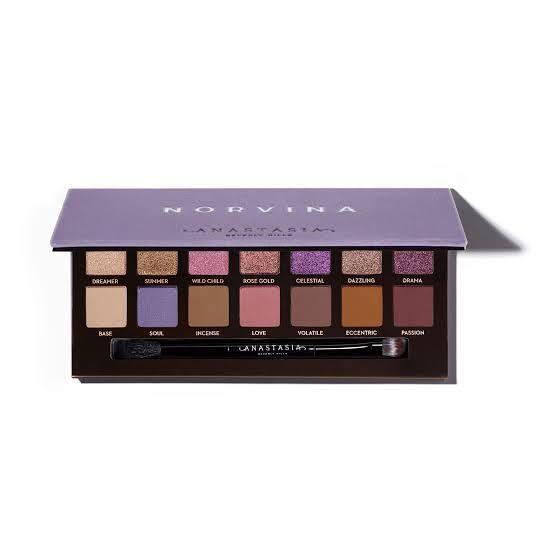 Brand new Anastasia Beverly Hills Norvina Eyeshadow Palette