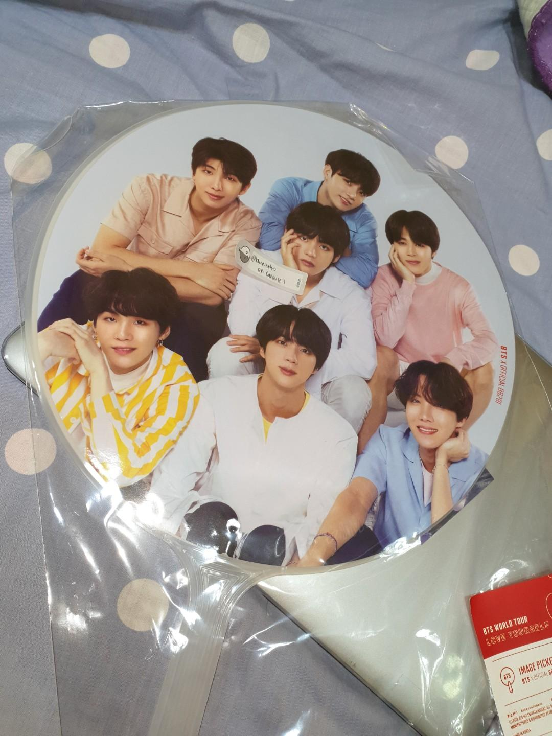 [WTS] BTS LOVE YOURSELF TOUR IMAGE PICKET