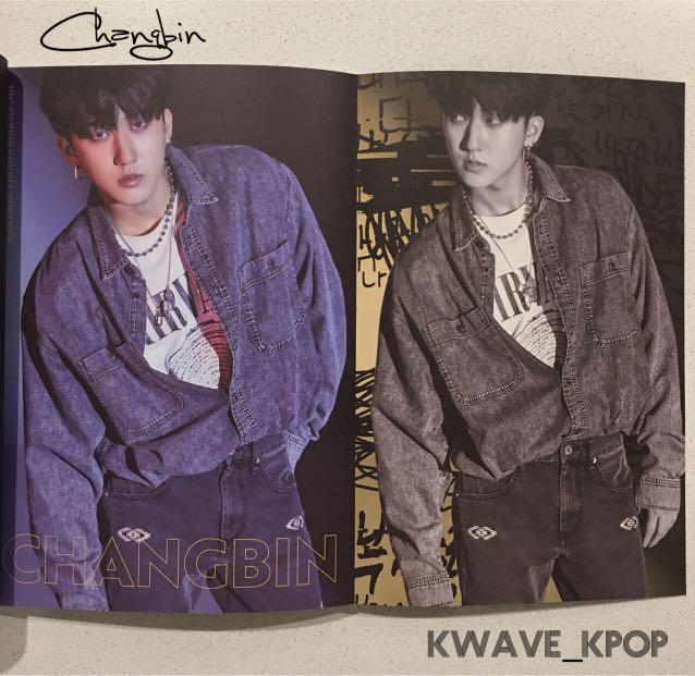 ✨CHANGBIN✨STRAY KIDS YELLOW WOOD SPECIAL ALBUM CLE 2 VER -1 CD DISC +PHOTO BOOK