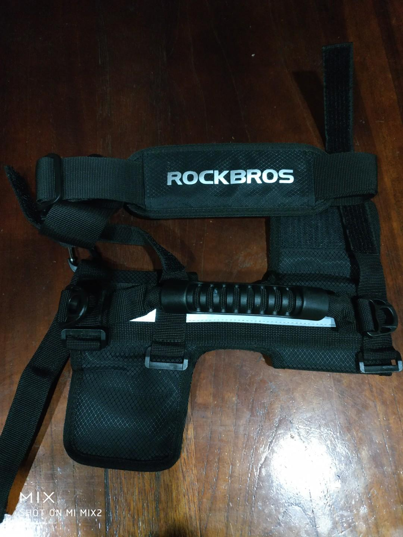 Cheap Rockbros Brompton carrying strap.