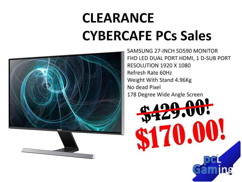 Cybercafe lanshop clearance 10 days only! Gaming PCs