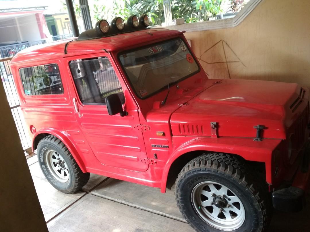 Dijual Mobil Suzuki Jimny Jangkrik Lj80 Mobil Motor Mobil Untuk Dijual On Carousell