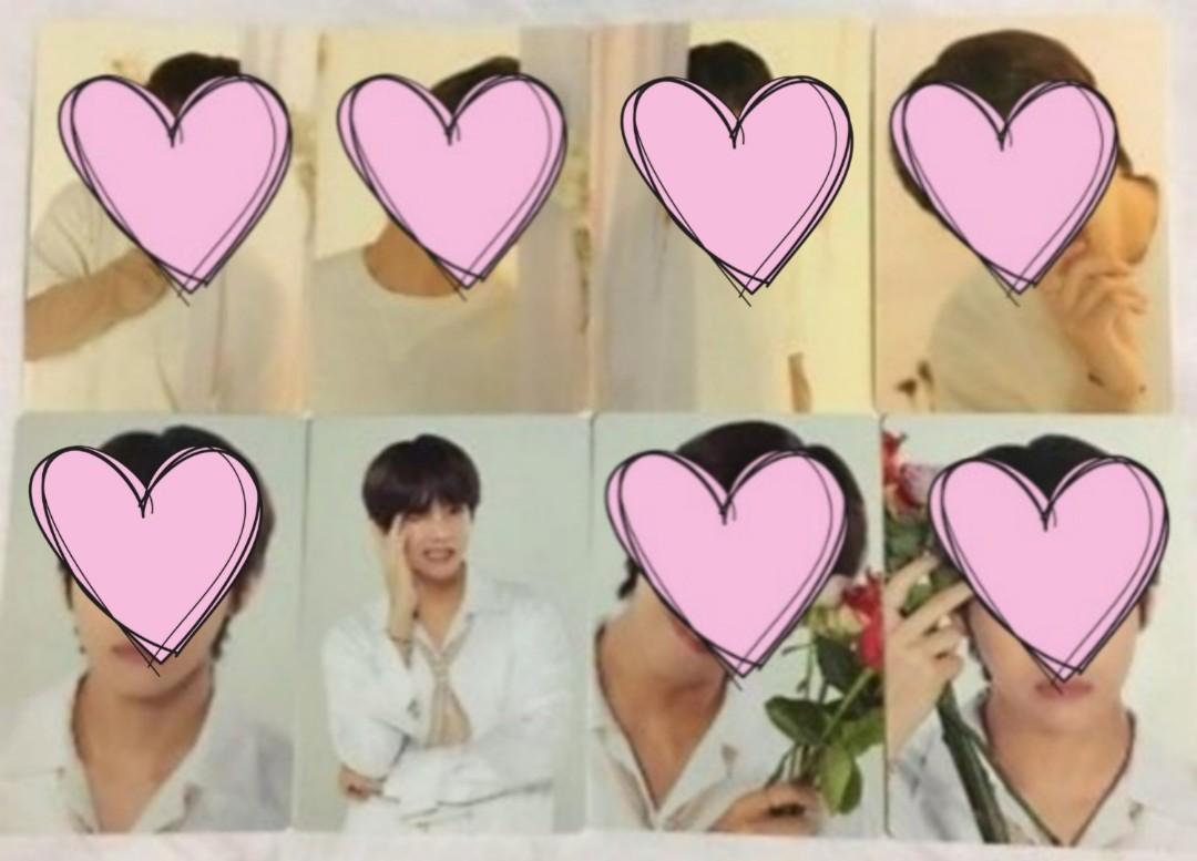 [FOUND] (WTB/LF) BTS V World Tour Love Yourself mini photocards