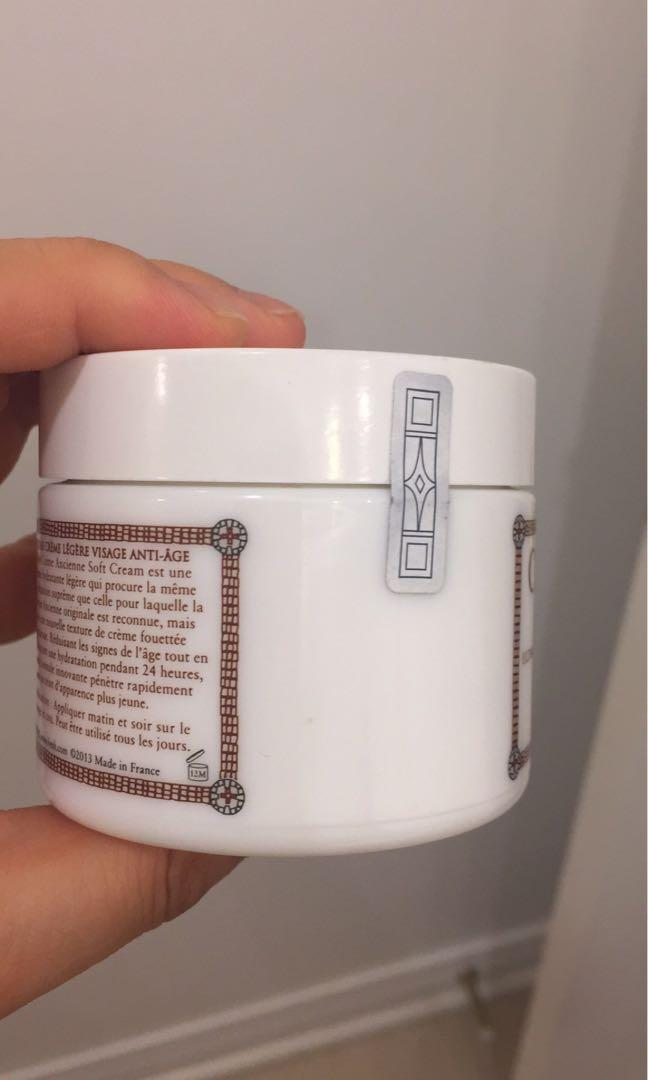 Fresh Creme Ancienne Soft Cream 3.3 oz /100 ml  New