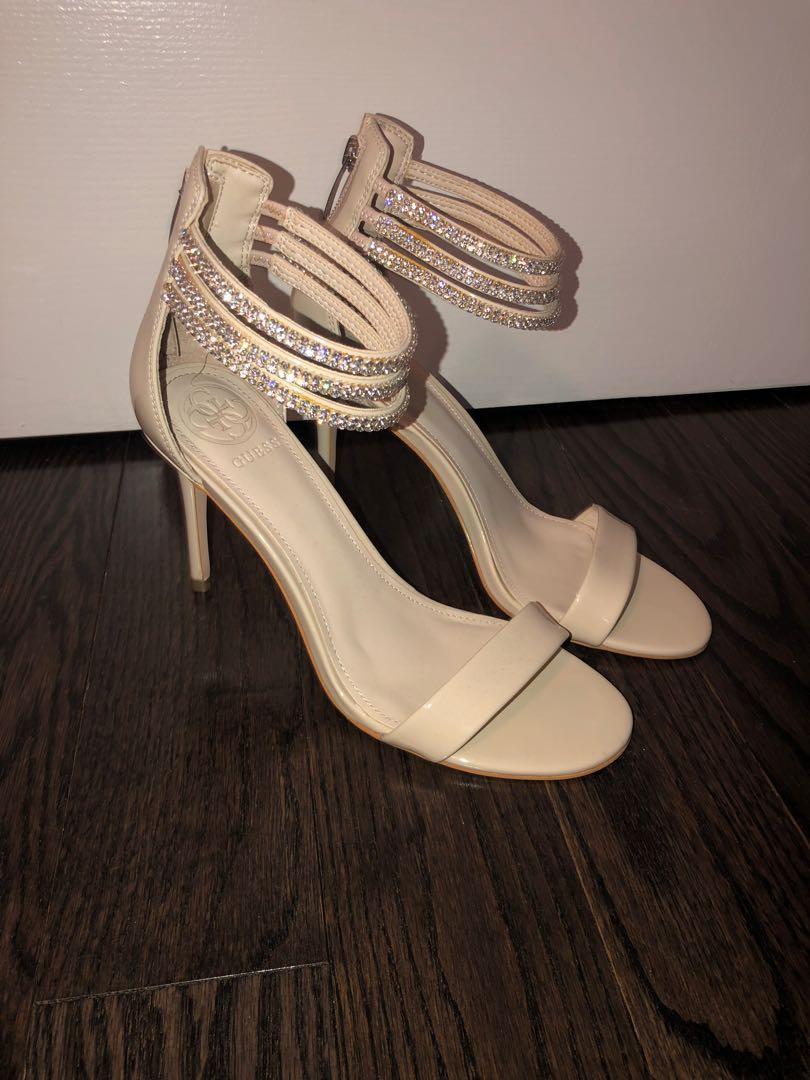 Guess sandal heels size 6.5