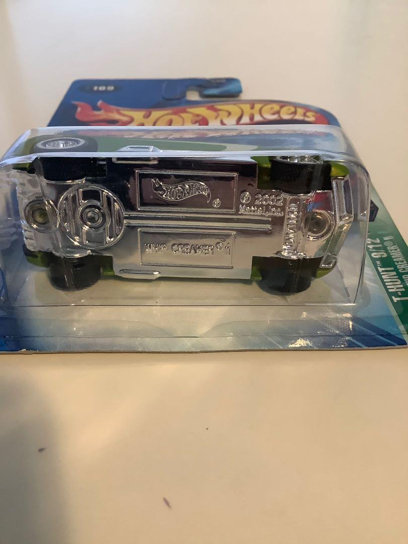 Hot wheels SUPER TREASURE HUNT 2003 Whip Creamer 2 rare limited edition diecast car with real riders