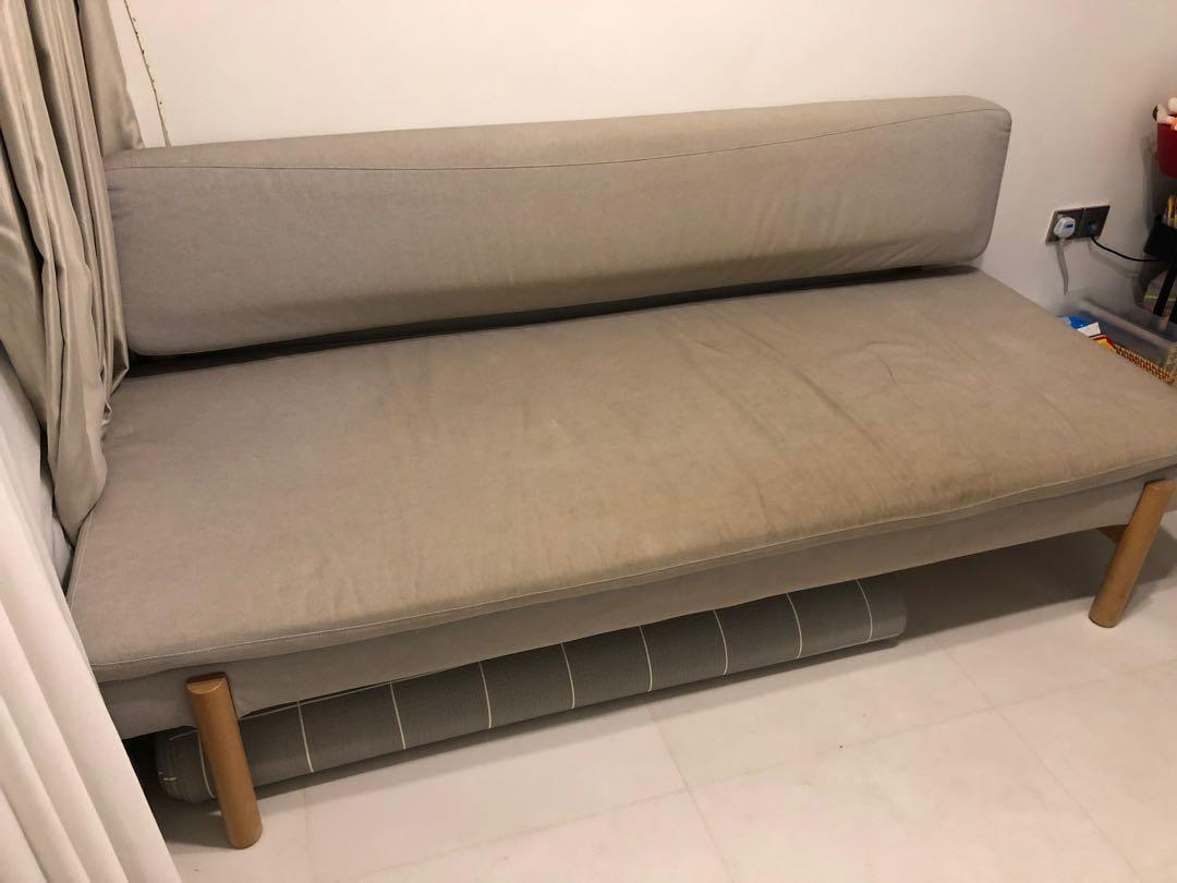 Peachy Ikea Ypperlig 3 Seat Sofa Bed On Carousell Machost Co Dining Chair Design Ideas Machostcouk