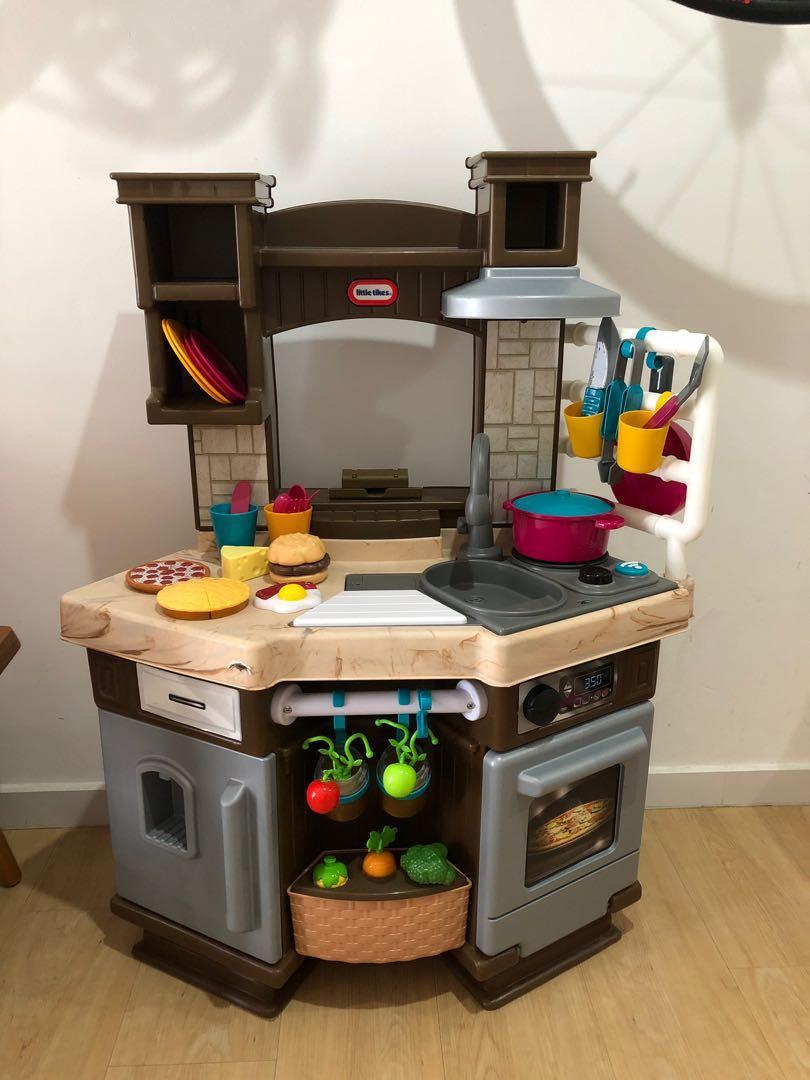 Little Tikes Cook N Learn Smart Kitchen Babies Kids