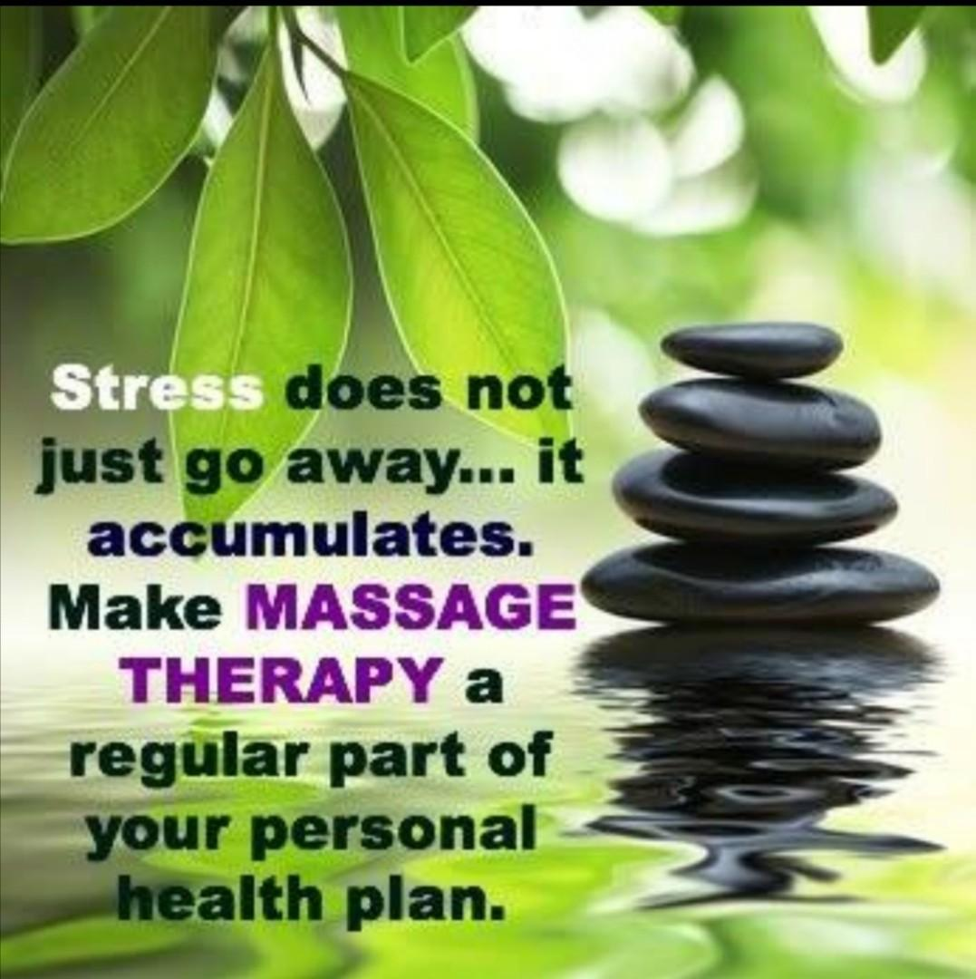 Massage Therapy by qualified male masseur