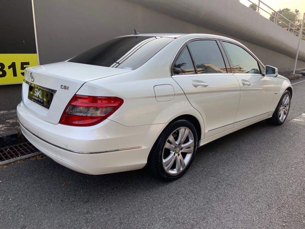 Mercedes C180 1.8 CGI for rent